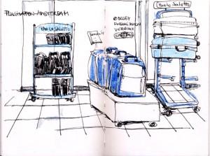 Amsterdam Flughafenshop