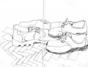 Wohnung Schuhe
